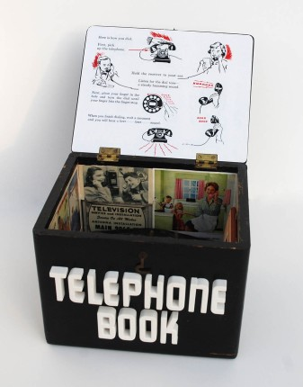 Telephone Book 3 Julie Shaw Lutts