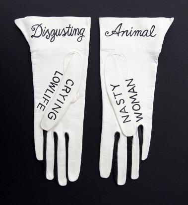 Women's Vintage Leather Kid Gloves