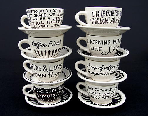 8 Cups of Coffee~Coffee cup pages